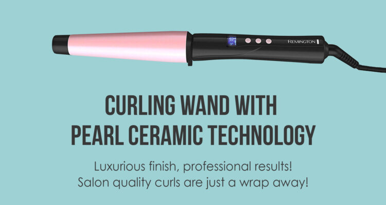 "Remington-Pro-1-1.5""-Curling-Wand-with-Pearl-Ceramic-Technology-and-Digital-Controls,-CI9538"
