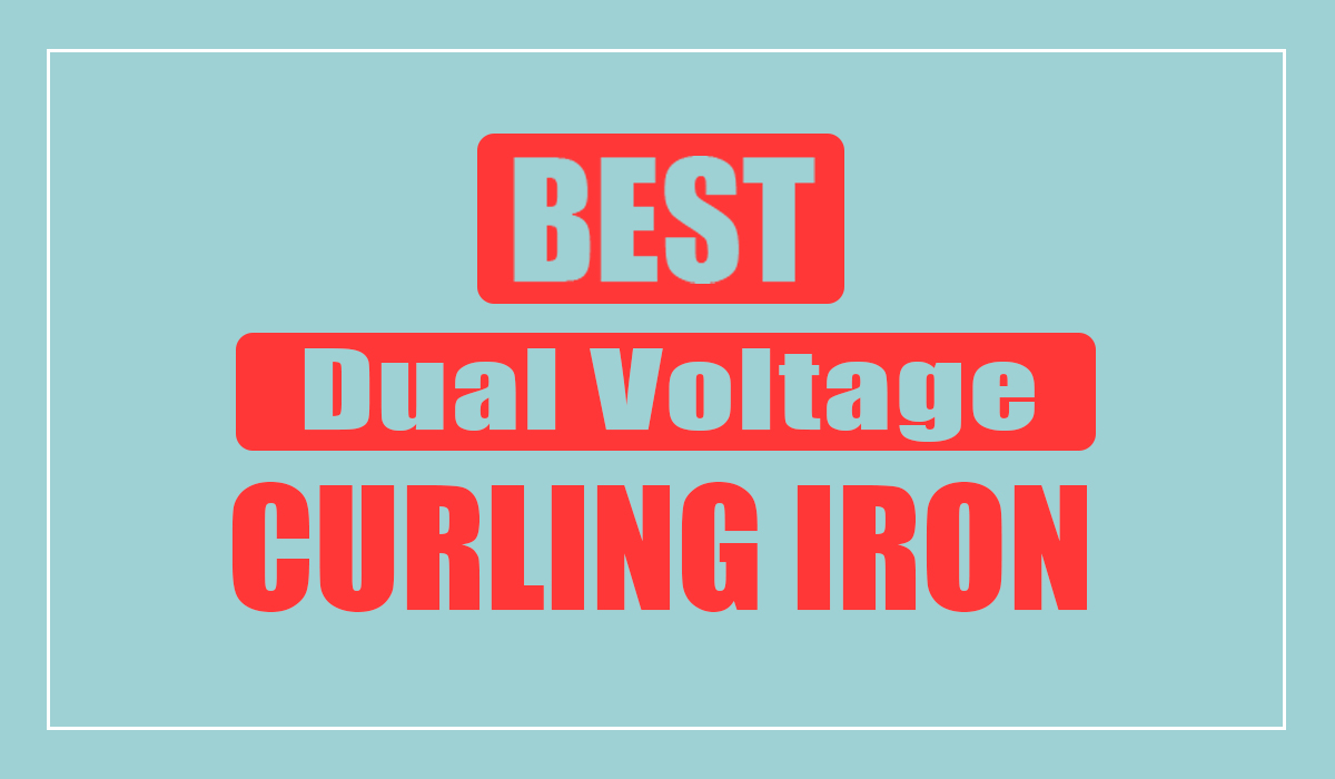 Dual Voltage Curling Iron