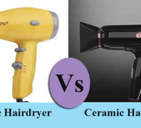 Ionic vs Ceramic Hair Dryer